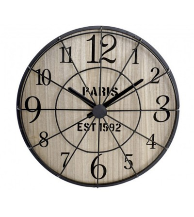 RELOJ DE PARED PARIS INDUSTRIAL