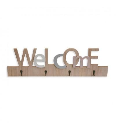 COLGADOR LLAVES WELCOME