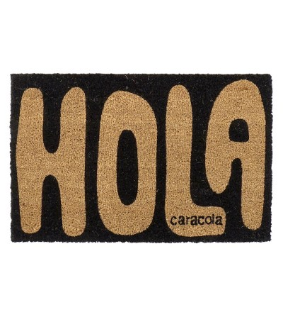 FELPUDO HOLA CARACOLA 60X40