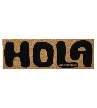 FELPUDO HOLA CARACOLA 70x25