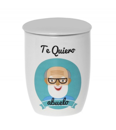 """TAZA INFUSIÓN """"TE QUIERO ABUELO"""""""